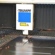 Лазерная резка металлопроката фото