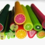 """Палочки фимо """"фруктовые"""" фото"""