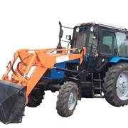 Экскаватор-погрузчик БАМ-2014 на базе трактора МТЗ-82 фото