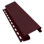 Стыковочный профиль декор VinylOn 3,05м (Винно-красный) фото