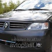 Реснички на фары Renault Logan 2004-2013 фото