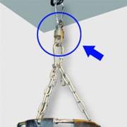 Поворотный механизм подвеса мешка Aquabox фото