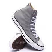 Кеды Converse All Star Grey серые фото
