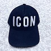 Кепка ICON Dsquared2 темно-синяя фото