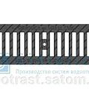 Решетка водоприемная Standart РВ -10.13,6.50 - щелевая чугунная ВЧ, кл. С250 фото