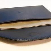 Экранирующий кожаный чехол для телефона. Два кармана фото