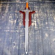Сувенирное оружие на планшете «Меч», гарда в виде двух орлов фото