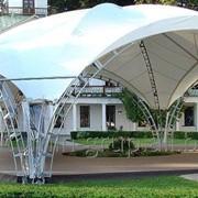 Свадебный шатёр, шатёр для торжеств, выставочный павильон фото