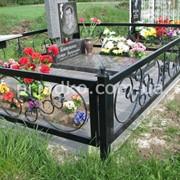 Ограды для кладбища фото