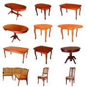 Столы и стулья для кухни и столовой фото