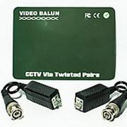 Приемопередатчик видеосигнала по витой паре пассивный 1-канальный BALUN фото