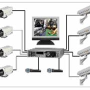 Видеокамеры систем охранного видеонаблюдения фото
