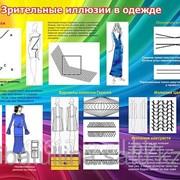 Плакат Зрительные иллюзии в одежде В.13 фото