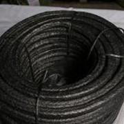 Набивка АПРПП ( асбестовая, с проволокой, прорезиненная, пропитанная антифрикционным составом) фото
