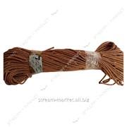 Веревка кор д 8мм (100м) плетеный капрон пропитаный краской водостойкая фото