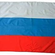 """Флаг """"России"""" 90х135 см. фото"""