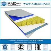 Стеновая сэндвич-панель МВУ 100мм АМК-СПСТ-МВУ фото