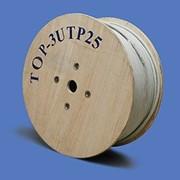 Кабель UTP (витая пара) 25 пар, TopLAN, кат. 3, PVC, чистая медь, 305м фото