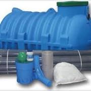 Автономная канализация JPR для дома 6 чел 900 л/сутки фото