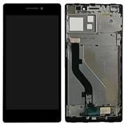Дисплей для Lenovo Vibe X2 в сборе с тачскрином (черный) с рамкой фото