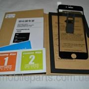 Защитное Стекло для Apple Iphone 6 4,7 черное фото
