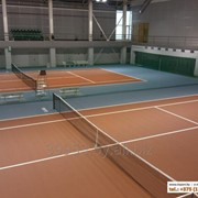 Теннисные корты. Строительство и проектирование. фото