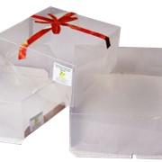 Коробки для тортов из полипропиленовый пленки фото