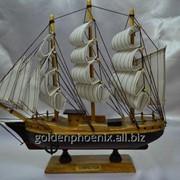 Статуэтка Корабль чорный 52548893 фото