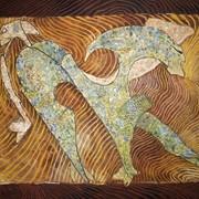 "Картина сюрреализм ""Повелитель волшебного цветка"". Автор Кустов А.Ф фото"