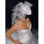 Свадебные шляпки с вуалью фото