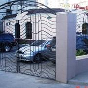 Ворота кованые, Украина, Одесса. фото