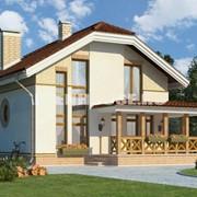 Проекты одноэтажных домов фото
