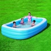 Бассейн детский надувной прямоугольный фото