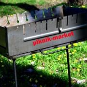 Складной мангал Семья 8 из высококачественной стали 2 мм фото