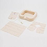 """Комплект для мытья головы """"Armed"""": ванна надувная, емкость для воды, защитный фартук фото"""