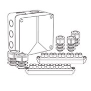 Коробки монтажные Abox100/S (стандарт) и Abox100/S/1 (стандарт) фото