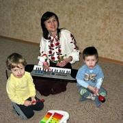 Музыкальные занятия для детей Киев фото