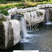 Искусственные водоемы декоративные водоемы, пруды фото