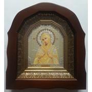 Икона Богородица Семистрельная. Киот. Украина. фото