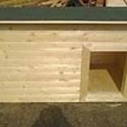 Будка собачья №11 (Размер 1.5-0.9-0.8 м) Утеплённая фото