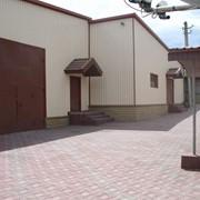 Завод по производству тротуарной плитки фото