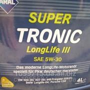 Масло Aral SuperTronic Longlife III SAE 5W-30 фото