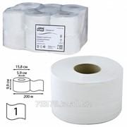 Туалетная бумага рулонная Tork Premium, 170 метров, 2-х слойная, белая фото