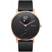 Умные часы Nokia Steel HR 36mm Розовое золото/черный фото