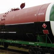 Услуги железнодорожных перевозок в вагонах-цистернах фото