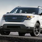 Автомобиль Ford Explorer WHITE PLATINUM фото