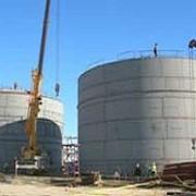 Резервуары для темных нефтепродуктов фото