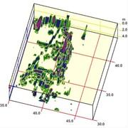 Создание 3-D модели аномальных зон, построение трехмерных моделей аномальных зон и их интерпретация фото
