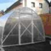 Строительство теплиц из ПВХ фото