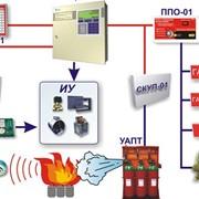 Aвтоматическая система пожаротушения фото
